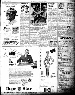 Hope Star from Hope, Arkansas on February 18, 1954 · Page 7