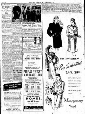 Cumberland Sunday Times from Cumberland, Maryland on March 4, 1945 · Page 12