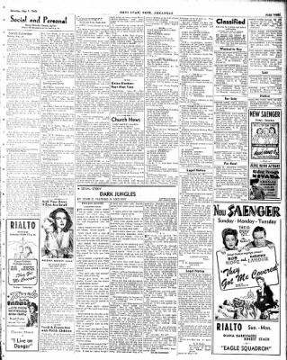 Hope Star from Hope, Arkansas on May 1, 1943 · Page 3
