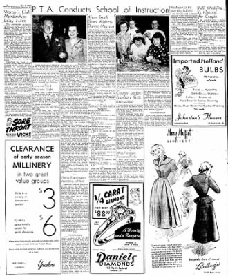 Globe-Gazette from Mason City, Iowa on October 7, 1949 · Page 24