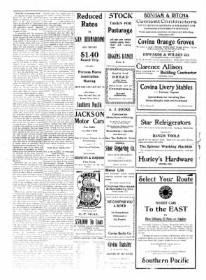 Covina Argus from Covina, California on June 26, 1909 · Page 2