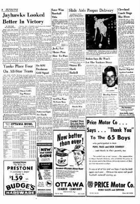 The Ottawa Herald from Ottawa, Kansas on October 17, 1961 · Page 2