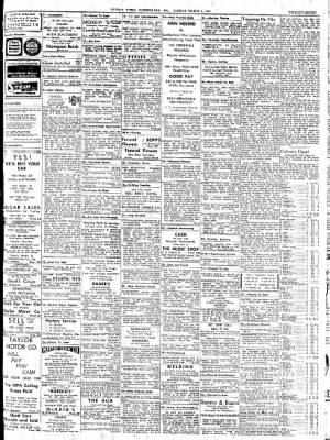 Cumberland Sunday Times from Cumberland, Maryland on March 4, 1945 · Page 27