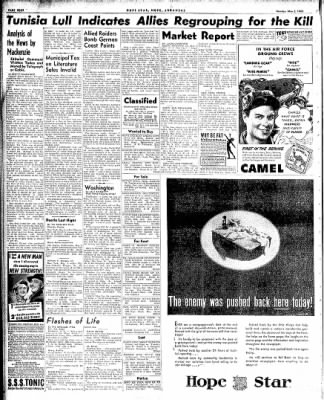 Hope Star from Hope, Arkansas on May 3, 1943 · Page 4
