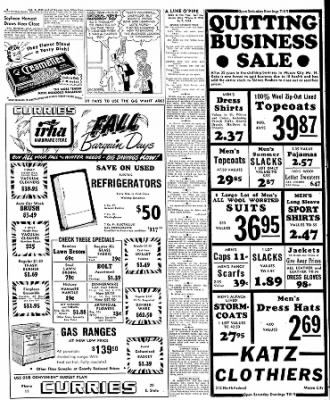 Globe-Gazette from Mason City, Iowa on October 7, 1949 · Page 32