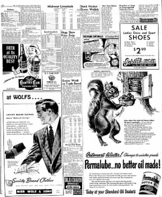 Globe-Gazette from Mason City, Iowa on October 6, 1949 · Page 2