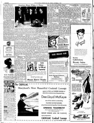 Cumberland Sunday Times from Cumberland, Maryland on October 15, 1944 · Page 16