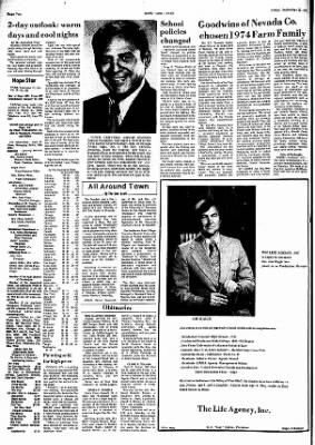 Hope Star from Hope, Arkansas on September 27, 1974 · Page 2