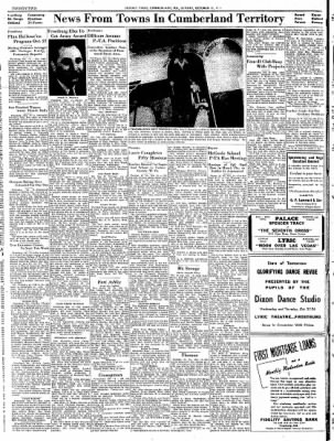 Cumberland Sunday Times from Cumberland, Maryland on October 15, 1944 · Page 22