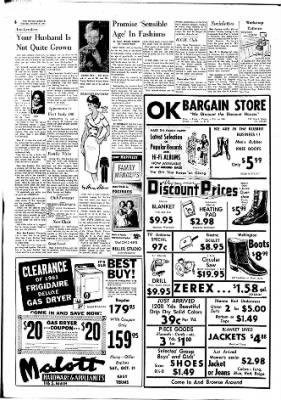 The Ottawa Herald from Ottawa, Kansas on October 19, 1961 · Page 6