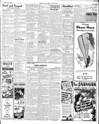 Hope Star from Hope, Arkansas on May 7, 1943 · Page 3