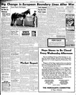 Hope Star from Hope, Arkansas on May 10, 1943 · Page 4