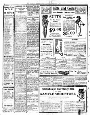 Iola Daily Register And Evening News from Iola, Kansas on December 4, 1911 · Page 4