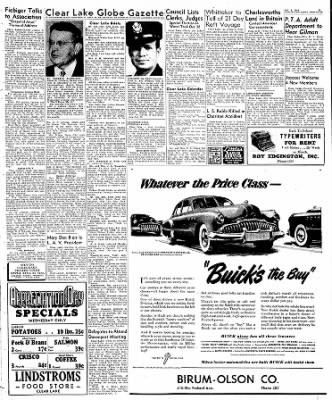 Globe-Gazette from Mason City, Iowa on October 5, 1949 · Page 15