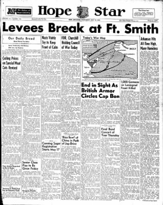 Hope Star from Hope, Arkansas on May 12, 1943 · Page 1