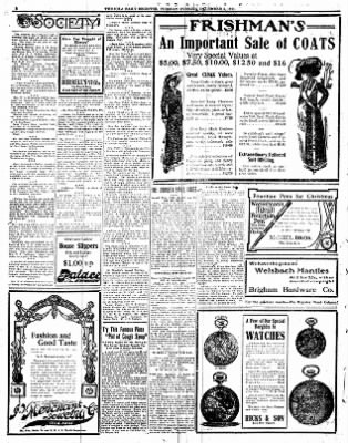 Iola Daily Register And Evening News from Iola, Kansas on December 5, 1911 · Page 2