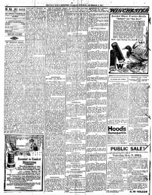 Iola Daily Register And Evening News from Iola, Kansas on December 5, 1911 · Page 4