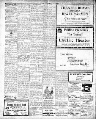 The Emporia Gazette from Emporia, Kansas on May 18, 1918 · Page 1