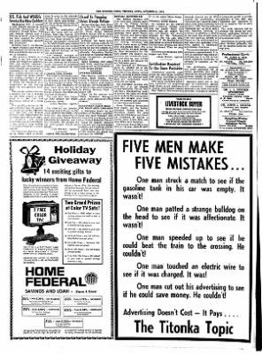 Titonka Topic from Titonka, Iowa on November 14, 1974 · Page 8