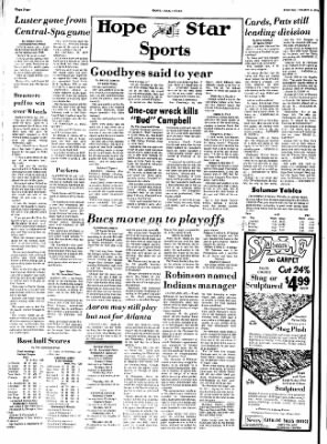 Hope Star from Hope, Arkansas on October 3, 1974 · Page 4