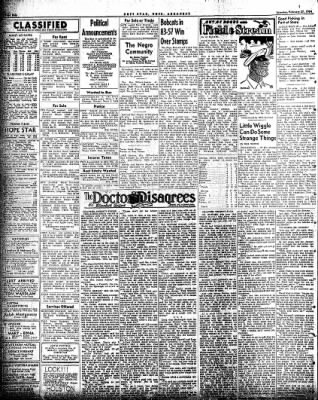 Hope Star from Hope, Arkansas on February 27, 1954 · Page 4