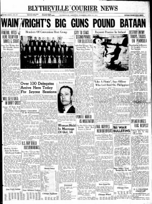The Courier News from Blytheville, Arkansas on April 16, 1942 · Page 1