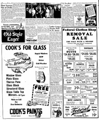 Globe-Gazette from Mason City, Iowa on October 4, 1949 · Page 10