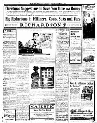 Iola Daily Register And Evening News from Iola, Kansas on December 7, 1911 · Page 3