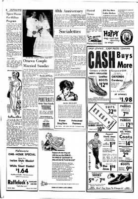 The Ottawa Herald from Ottawa, Kansas on October 26, 1961 · Page 6