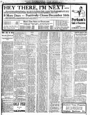 Iola Daily Register And Evening News from Iola, Kansas on December 7, 1911 · Page 6