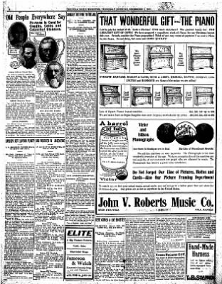 Iola Daily Register And Evening News from Iola, Kansas on December 7, 1911 · Page 8