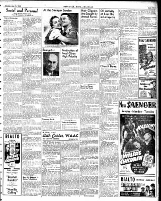Hope Star from Hope, Arkansas on May 15, 1943 · Page 3