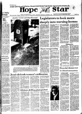 Hope Star from Hope, Arkansas on October 5, 1974 · Page 1