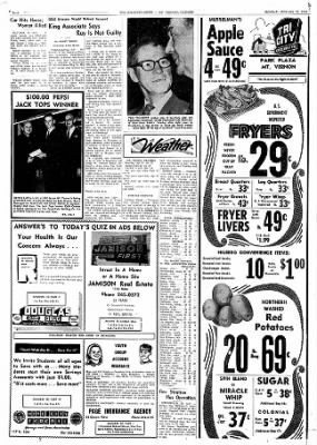 Mt. Vernon Register-News from Mt Vernon, Illinois on January 20, 1969 · Page 6