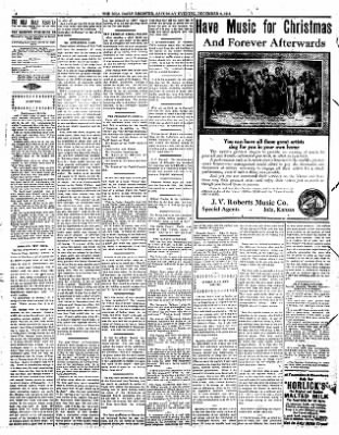 Iola Daily Register And Evening News from Iola, Kansas on December 9, 1911 · Page 4