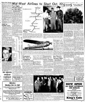 Globe-Gazette from Mason City, Iowa on October 3, 1949 · Page 15
