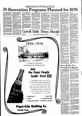 Carrol Daily Times Herald from Carroll, Iowa on March 26, 1976 · Page 35