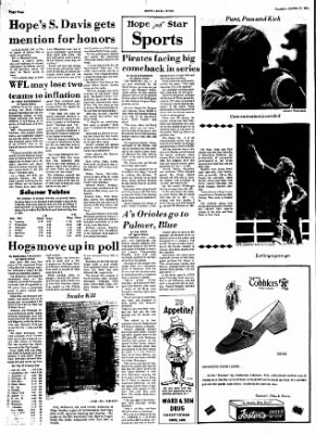 Hope Star from Hope, Arkansas on October 8, 1974 · Page 4