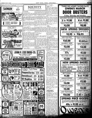 Hope Star from Hope, Arkansas on March 4, 1954 · Page 5