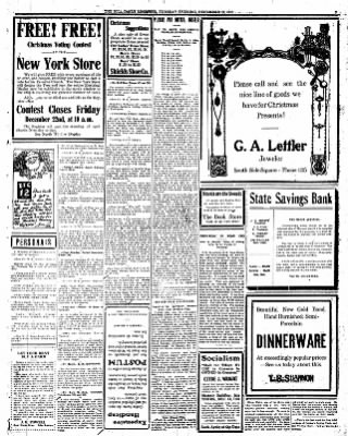 Iola Daily Register And Evening News from Iola, Kansas on December 12, 1911 · Page 3