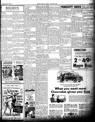 Hope Star from Hope, Arkansas on March 5, 1954 · Page 3