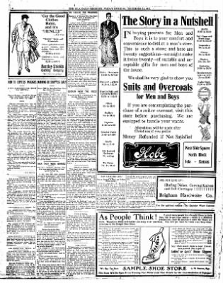 Iola Daily Register And Evening News from Iola, Kansas on December 15, 1911 · Page 4