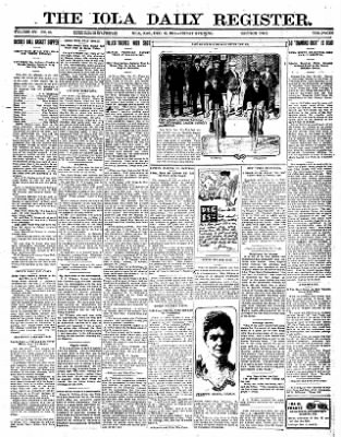 Iola Daily Register And Evening News from Iola, Kansas on December 15, 1911 · Page 7