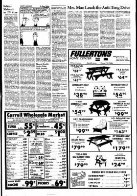 Carrol Daily Times Herald from Carroll, Iowa on March 31, 1976 · Page 20