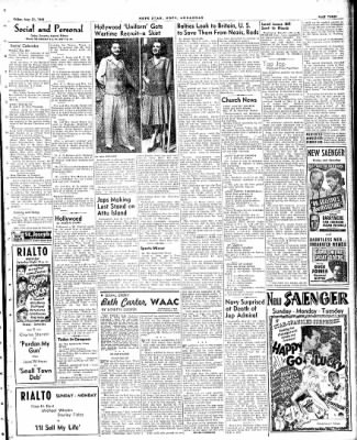 Hope Star from Hope, Arkansas on May 21, 1943 · Page 3
