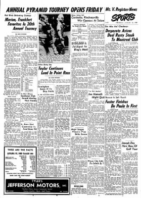 Mt. Vernon Register-News from Mt Vernon, Illinois on January 23, 1969 · Page 9