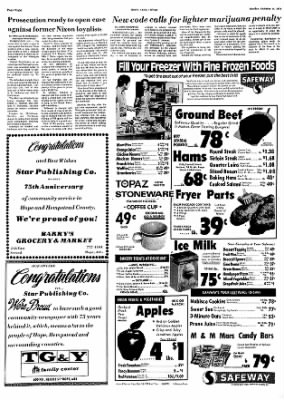 Hope Star from Hope, Arkansas on October 14, 1974 · Page 8