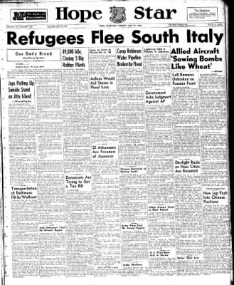 Hope Star from Hope, Arkansas on May 25, 1943 · Page 1