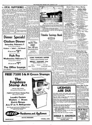 Titonka Topic from Titonka, Iowa on January 30, 1975 · Page 8