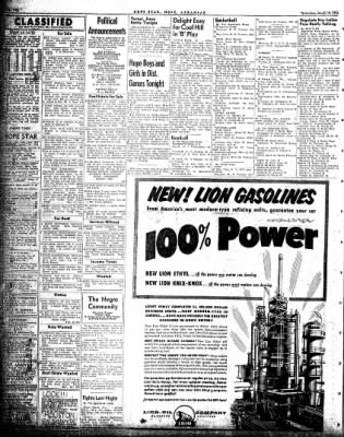 Hope Star from Hope, Arkansas on March 10, 1954 · Page 4